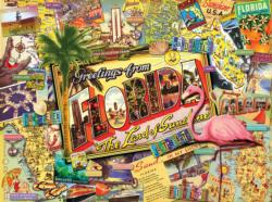 Florida Collage Jigsaw Puzzle