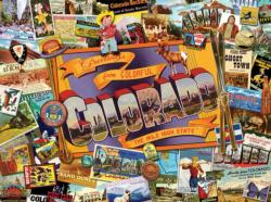 Mile High Colorado Maps / Geography Jigsaw Puzzle
