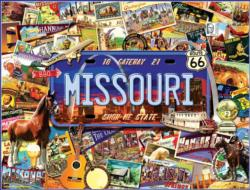 "Missouri: The ""Show Me"" State Americana & Folk Art Jigsaw Puzzle"