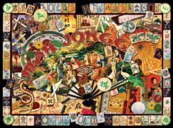 Mah Jongg Masters Asia Jigsaw Puzzle