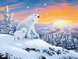 The Snow Bears Bears Large Piece