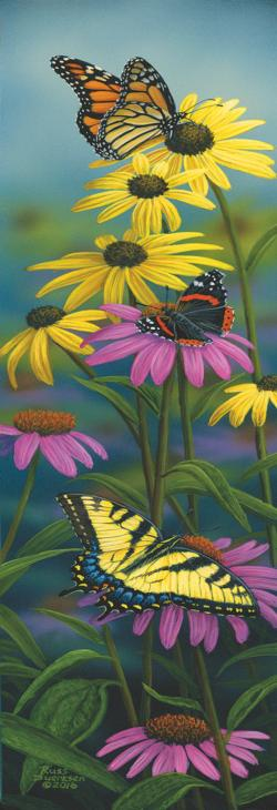 Splash of Color Butterflies and Insects Jigsaw Puzzle