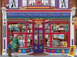 Professor Puzzle Shop Shopping Jigsaw Puzzle