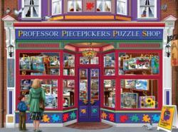 Professor Puzzle Shop Shopping Jigsaw Puzzle
