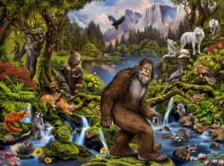 King of the Forest Forest Jigsaw Puzzle