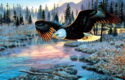 Eagle Dawn Eagles Jigsaw Puzzle