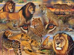 Big Cats of the Plains Lions Jigsaw Puzzle