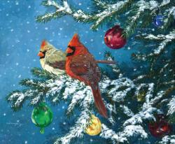 Sharing the Season Snow Jigsaw Puzzle