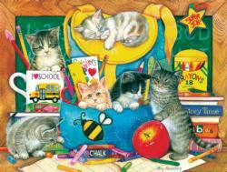 Classroom Kittens Kittens Jigsaw Puzzle