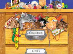 Odds n'  Ends Baby Animals Jigsaw Puzzle