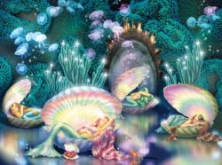 Sleeping Mermaids Mermaids Jigsaw Puzzle