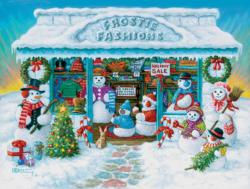 Frostie Fashions Shopping Jigsaw Puzzle