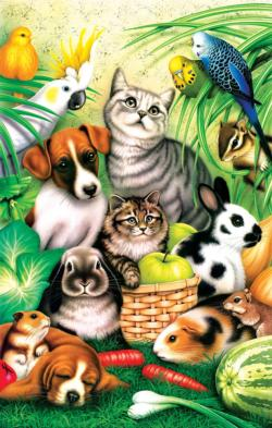 Pet Parade Animals Jigsaw Puzzle