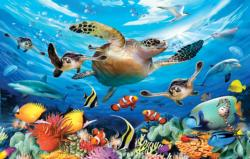 Journey of the Sea Turtles Fish Jigsaw Puzzle