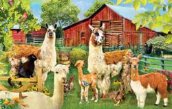 Llamas Farm Animals Jigsaw Puzzle