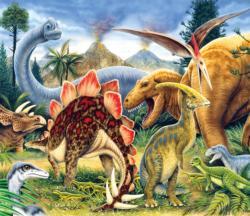 Dinosaur World History Jigsaw Puzzle