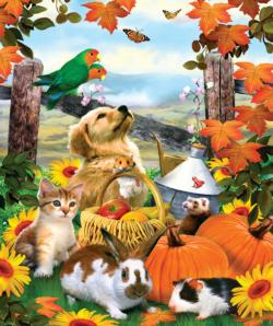 Harvest Moments Farm Jigsaw Puzzle