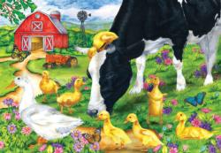 The Encounter Farm Animals Jigsaw Puzzle