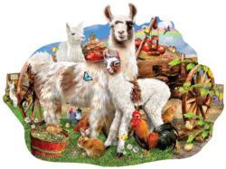 Llama Farm Farm Jigsaw Puzzle