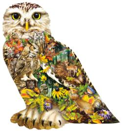 Forest Messenger Birds Jigsaw Puzzle