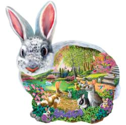 Bunny Hollow Bunnies Shaped Puzzle