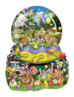 Easter Globe Easter Jigsaw Puzzle