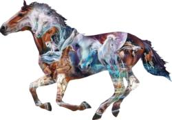 The Mystery of the Horse Horses Jigsaw Puzzle