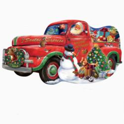Santa Express Special Delivery Christmas Jigsaw Puzzle