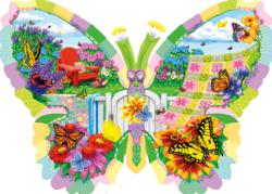 Butterfly Summer Butterflies and Insects Jigsaw Puzzle