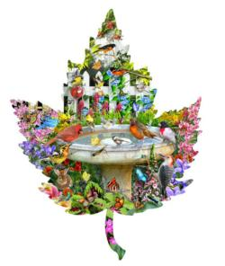 Bath Time Garden Jigsaw Puzzle