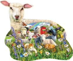 Lamb Shop Animals Jigsaw Puzzle