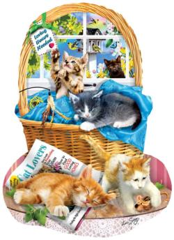 Free Kitties Cats Jigsaw Puzzle