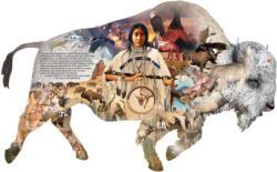 The White Buffalo Wildlife Jigsaw Puzzle