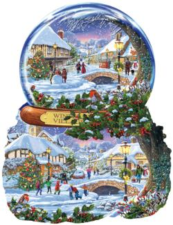 Winter Village Christmas Jigsaw Puzzle