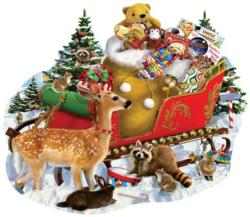 A Stop along the Way Christmas Jigsaw Puzzle