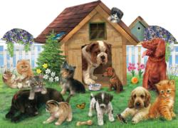 Welcome to the Playground Dogs Shaped Puzzle