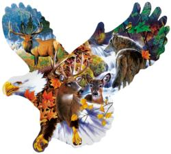 Forest Eagle Eagles Jigsaw Puzzle