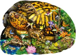 Tortoise Crossing Animals Jigsaw Puzzle