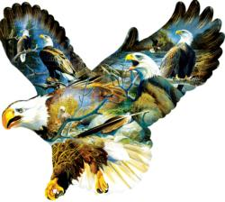 Eagle Majesty Eagles Jigsaw Puzzle