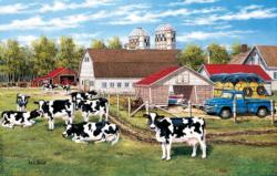 Home on the Farm - Scratch and Dent Farm Animals Jigsaw Puzzle