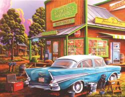 Sheila's Cafe Nostalgic / Retro Jigsaw Puzzle