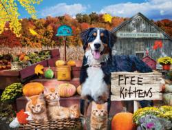 Blueberry Hollow Farm Dogs Jigsaw Puzzle