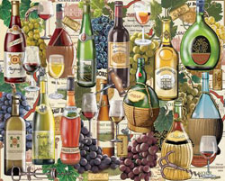 Wine Country Cocktails / Spirits Jigsaw Puzzle