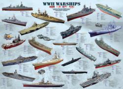 WWII War Ships Pattern / Assortment Jigsaw Puzzle