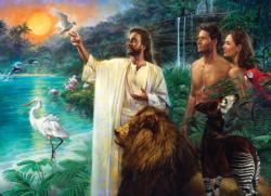 First Creation Eden Religious Jigsaw Puzzle