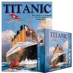 Titanic - White Star Line Titanic Jigsaw Puzzle