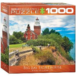 Big Bay Lighthouse Lakes / Rivers / Streams Jigsaw Puzzle
