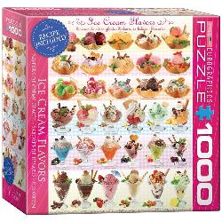 Ice Cream Flavors Sweets Jigsaw Puzzle