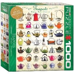 Teapots Collage Jigsaw Puzzle