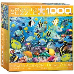 Color Reef Fish Jigsaw Puzzle